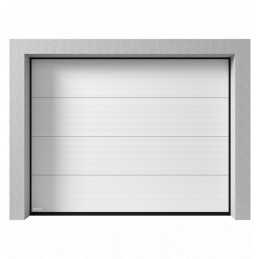 Porte de garage sectionnelle Micro ligne