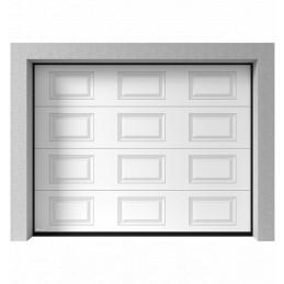 Porte de garage sectionnelle prémonté cassette