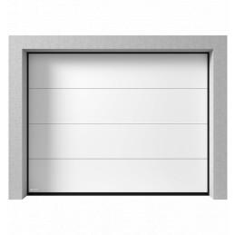 Porte de garage sectionnelle Sans ligne