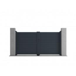 Portail coulissant aluminium - BEN
