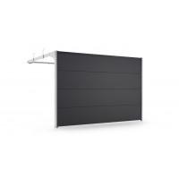 Porte de garage sectionnelle, moteur, portillon, hunlot