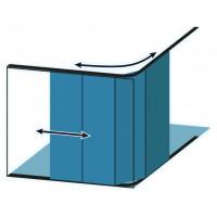Porte de garage coulissante - Personnalisable